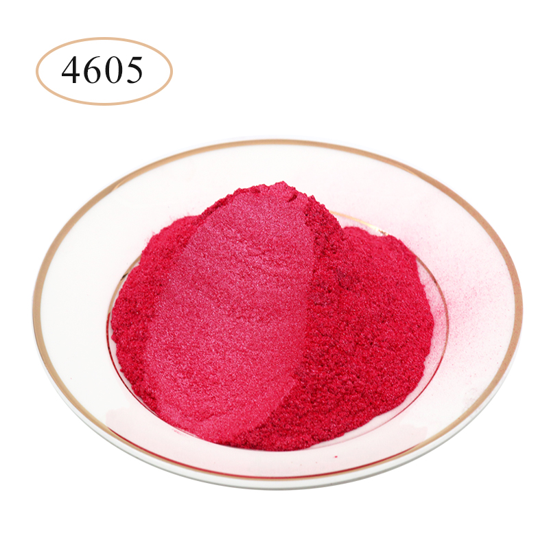 Peach Red Pearl Powder Pigments Mineral Mica Powder Dye For Soap Nail Ceramics Arts Craft Paper DIY Mica Pearl Powder 10g/50g