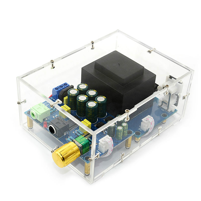 SOTAMIA TPA6120 Headphone Amplifier Board HIFI TPA6120A2 Enthusiast Headphones AMP Amplificador Zero Noise Diy Kits
