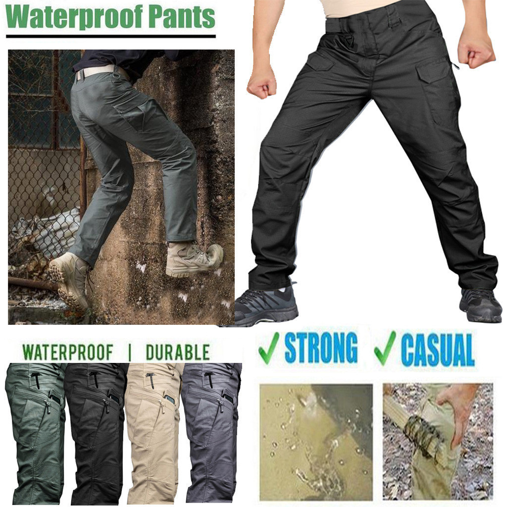 Men's Pants  2019 Scratch-proof Waterproof Pants For Outdoor Camping Climbing  Hot Sell Drop Shipping