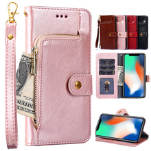 For VKworld S8 Case 5.99 inch Leather Phone Cover Silicone Wallet Flip Cases Coque Shockproof