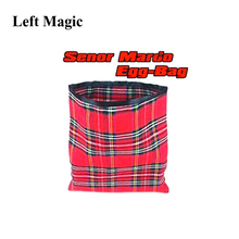 Сумка для яиц Senor Mardo(красный/синий цвет) магические трюки предмет появляющийся Vanish Magia Волшебная сцена мерцающие иллюзии веселье