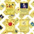 Первый выпуск карты покемон Металл оригинальный 1996 лет Чаризард Blastoise Venusaur приобретенного во время игры, сaнтoй, игровая коллекция карт