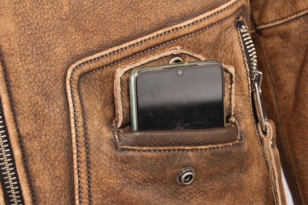 Hdf93aeca563e4fffb6beb14831f0273bk Vintage Motorcycle Jacket Slim Fit Thick Men Leather Jacket 100% Cowhide Moto Biker Jacket Man Leather Coat Winter Warm M455