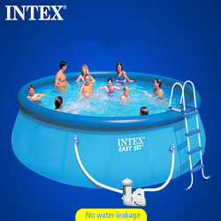 INTEX Inflatable Pool Oversized Household Adult Children's Pool Thicken Heights Family Pool big swimming pools