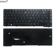 GZEELE Tastiera DEGLI STATI UNITI per HP ProBook 6440B 6450B 6445B 6455B Serie Inglese tastiera Del Computer Portatile (Senza bastone Point)