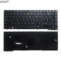 Gzeele eua teclado para hp probook 6440b 6450b 6445b 6455b série inglês teclado portátil (sem ponto vara)