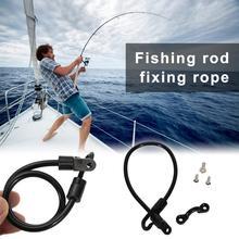 Belt Pole-Holder Fishing-Rod for Fixing Deck-Mount Tamer-Strap Strong-Load-Bearing Adjustable