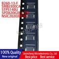 30PCS B260-13-F B260 SMBJ300CA FE STPS140U G14 SPD82062B-2/TR AK NSIC2020JBT3G 2020J SMB DO-214AA New original
