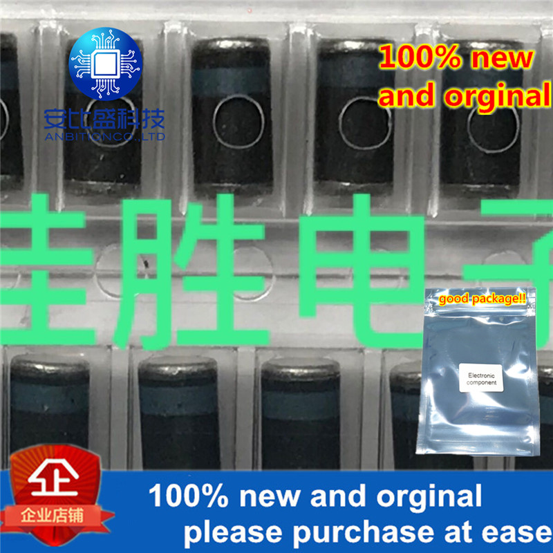 50pcs 100% New And Orginal SM160 DL160 1A60V DO213AB Blue Ring SURFACE MOUNT SCHOTTKY BARRIER RECTIFIER  In Stock