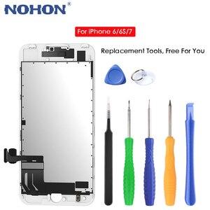 Image 3 - Tela de exibição de lcd nohon hd aaaa para iphone 6 6s 7 substituição 3d touch digitizer assembly telefone celular lcds tela de toque