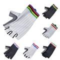 Новый продукт! Aero велосипедные перчатки Для мужчин Для женщин Для мужчин команда светильник Половина Finger Нескользящие ударопрочный дорожн...