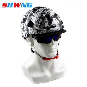 цена на SHWNG New SPEED Cycling Helmet Racing Road Bike Aerodynamics Pneumatic Helmet Men Sports Aero Bicycle Helmet