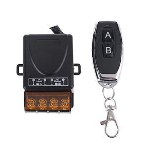 2CH беспроводное реле RF пульт дистанционного управления переключатель приемник 2 кнопки передатчик 667C