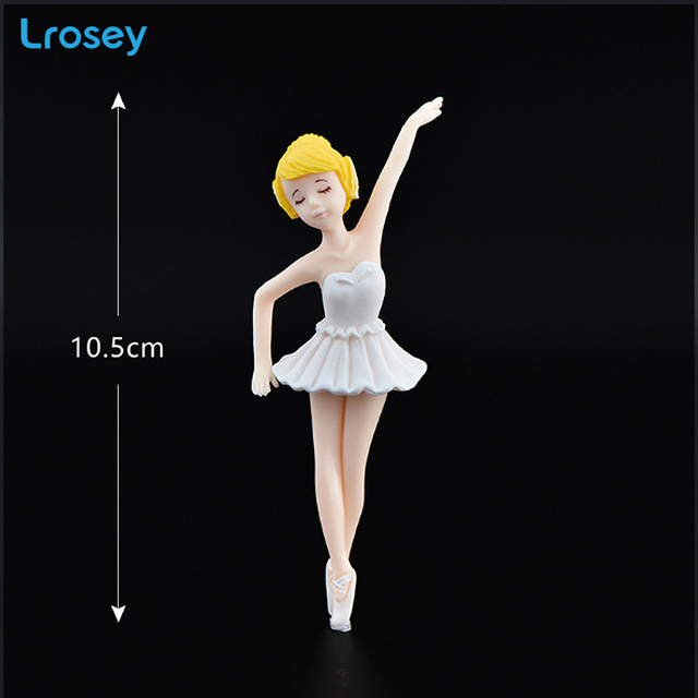 Ballerina girl miniature garden decoration gifts little crafts toys Modern simplicity home decoration accessories fairy garden 6