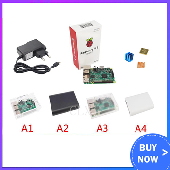 Raspberry Pi 3  Starter Kit + Raspberry pi 3 +case+ Power + Heat Sink for Raspberry pi 3