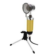 BM 8000 Wired Scheda Audio In Studio di Registrazione Microfono A Condensatore Karaoke Microfono A Condensatore Kit Per Audio Del Computer Vocale