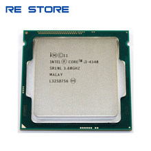 Używane intel Core i3 4340 dwurdzeniowy 3.6GHZ LGA 1150 pulpit procesorów i3-4340 procesora