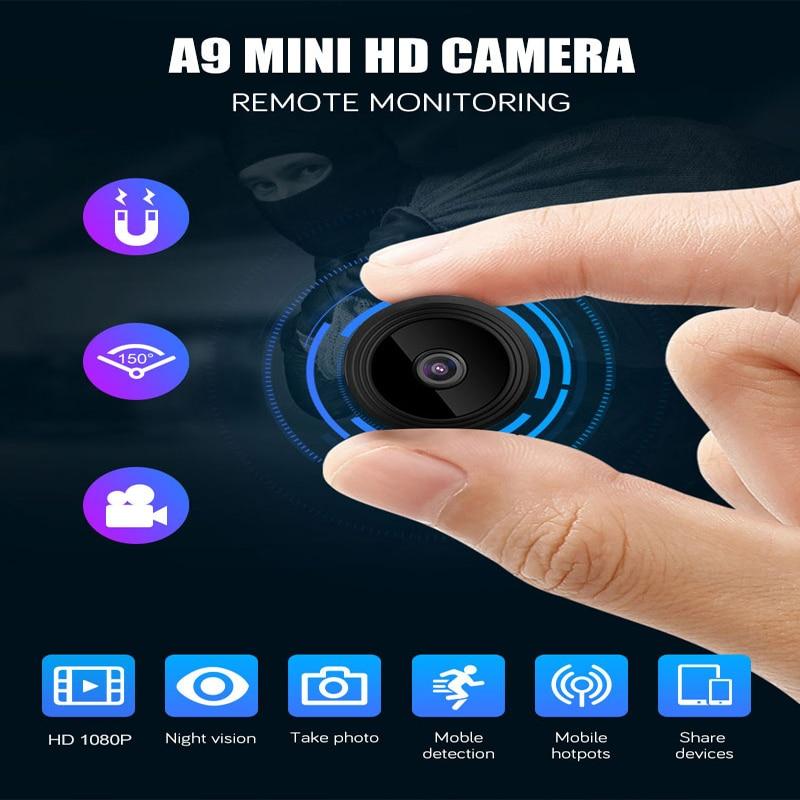 2021 Новый 1080P HD мини IP-камера на открытом воздухе и функцией ночной съемки микро-камера видеокамера Видео и аудио записывающее Регистраторы б...