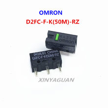 2 pçs/lote OMRON Rato Micro Interruptor Microswitch D2FC-F-K (50M)-RZ D2FC-F-7N 10M 20 geral M 50 milhões tempo de vida