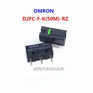 2pcs/lot OMRON Mouse Micro Switch Microswitch D2FC-F-K (50M)-RZ general D2FC-F-7N 10M 20M 50 millions time lifetime