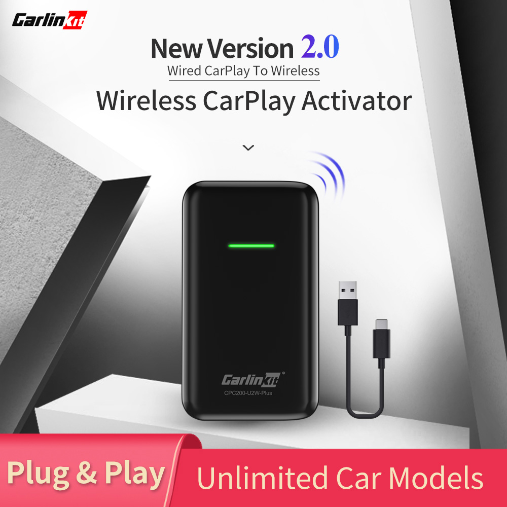 2020 CarPlay Wireless Adapter For Audi Porsche Wolkswagen Volvo Car Convert Factory Wired CarPlay To Wireless CarPlay
