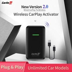 Adaptador inalámbrico CarPlay 2020 para Audi Porsche Wolkswagen Volvo, convertidor de coche con cable de fábrica CarPlay a CarPlay inalámbrico