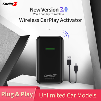 Adaptador inalámbrico CarPlay 2020 para Audi Porsche Wolkswagen Volvo, convertidor de coche con cable de fábrica CarPlay a CarPlay inalámbrico