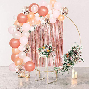 Party Christening Decor Balloon Garland Kit Rose Gold Arch Wedding Bridal Baby Shower Birthday Bachelorett Party Decoration