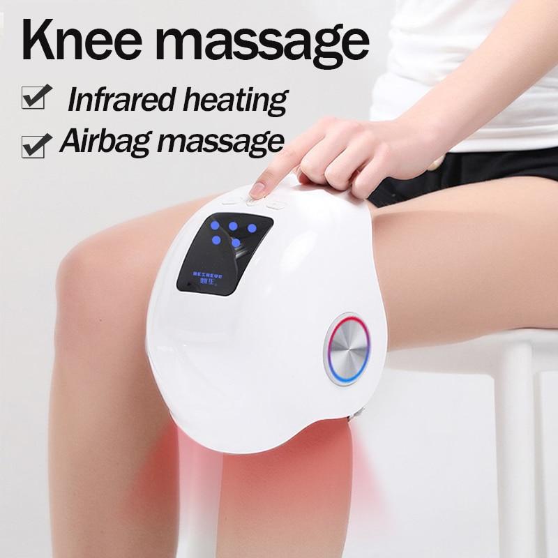 Lifetime Warranty Laser heated air massage knee physiotherapy instrument knee massage rehabilitation pain relief Leg massage Leg Massage Apparatus  - AliExpress