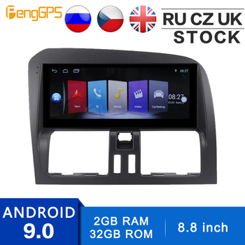 8.8 Inch Android System for Volvo XC60 2009-2012 GPS Navigation CD DVD Player 1024*600 Double Din Multimedia FM AM Headunit