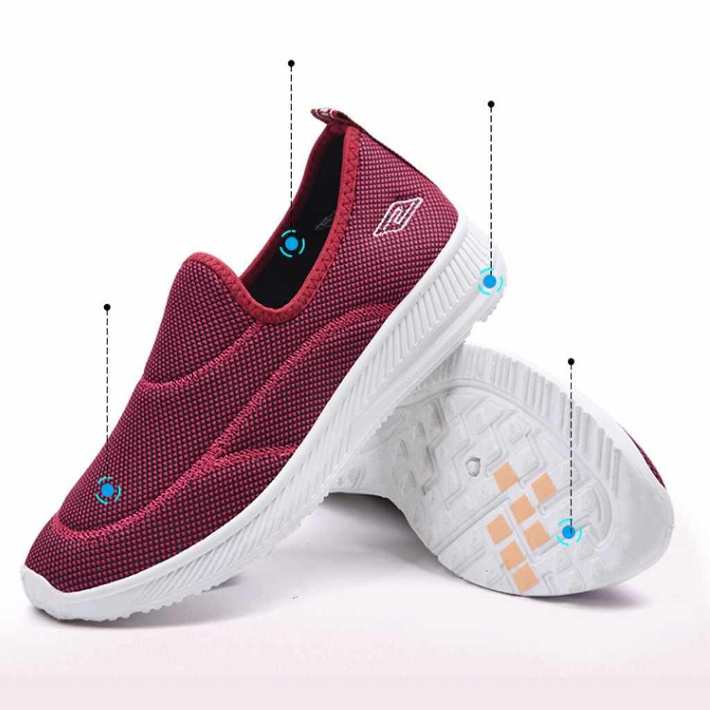 Moda kadın ayakkabı daireler dış mekan teli rahat spor ayakkabılar koşu nefes ayakkabı kadın kadın ayakkabı Zapatillas Mujer 2019