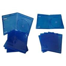 10 Pcs Cd Dvd Disco Custodia in Plastica Capacità Del Disco Cd Scatola di Immagazzinaggio per PS3