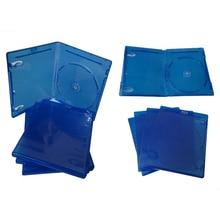 Ps3에 대 한 10 pcs cd dvd 디스크 플라스틱 케이스 용량 디스크 cd 스토리지 박스