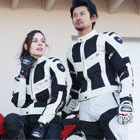 KOMINE японская оригинальная куртка для мотоциклиста дышащая анти осенняя мотокросса Защитная куртка для мотоцикла