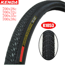 KENDA K1053 Bicycle Clincher Tire 700C 700*28/32/35/38mm Road Bike Tyre Superlight Outer Tube City Wheel Tires