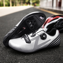 Bicycle Mountain Road Shoes Professional Grade Professional Riding Mountain Bike Lock Shoes Men and Women Breathable Sports Shoe boodun breathable mountain cycling shoes leisure sports outdoor mtb road bike bicycle lock riding shoes women