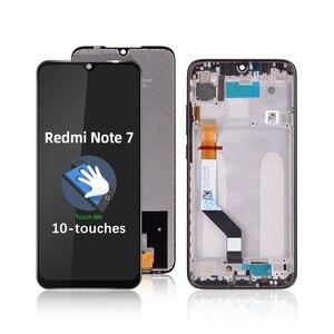 Z ramką wymiana ekran dotykowy Redmi Note 7 Pro 6.3 cala wymień na undefined
