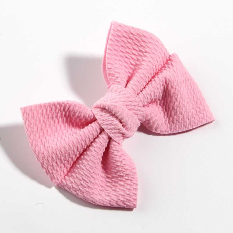 "50 Pcs 11 Cm 4.3 ""Big Fashion Seersucker Waffle Rambut Busur untuk Aksesoris Rambut Busur Simpul Boutique untuk Anak-anak gadis Bando"