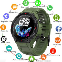 2021 LIGE New Smart Watch Men Sport Fitness Bluetooth Call Heart Rate Monitoring Music Control Alarm Clock Reminder Smartwatch