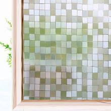 Privacy Decorative Window Film Static Cling Stained Mosaico Finestra Decalcomanie Anti UV di Vetro di Controllo di Calore Pellicola Window Sticker per La Casa(China)