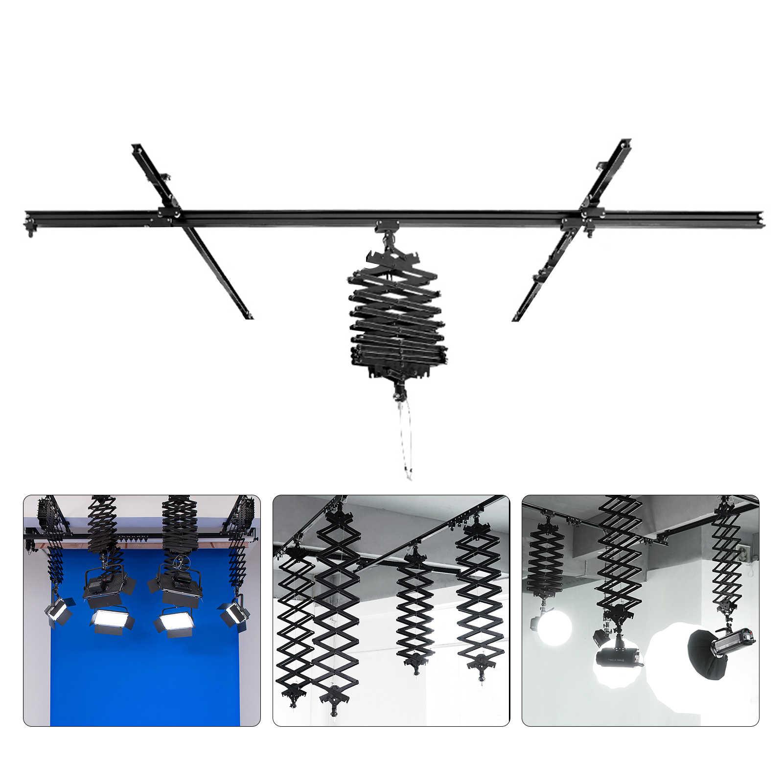 6x Pantograph Replacement Cable Clips for Pantograph Ceiling Rail System Pantograph Accessories Studio Photography Photo Video Spotlight