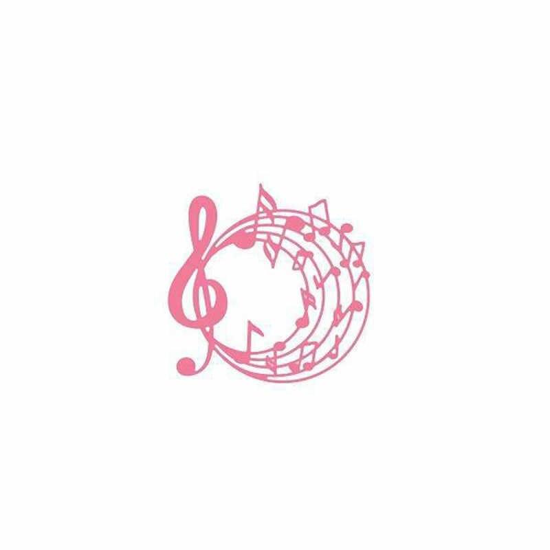 YaMinSanNiO музыкальная нота металлические режущие штампы Новинка 2019 музыкальный Скрапбукинг открыток Сделай Сам альбом декоративное тиснение ремесло трафарет