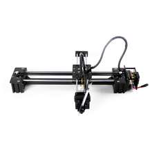 New arrive!!! Slideway moving 3 axis stepper motor control no servo DIY LY drawbot support laser pen drawing robot machine