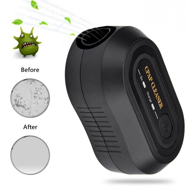 Portable CPAP Ozone Cleaner Ventilator Machine Sanitizer Disinfector Sleep Aid Breathing Auto Air Purifier Respirator Breathing 4
