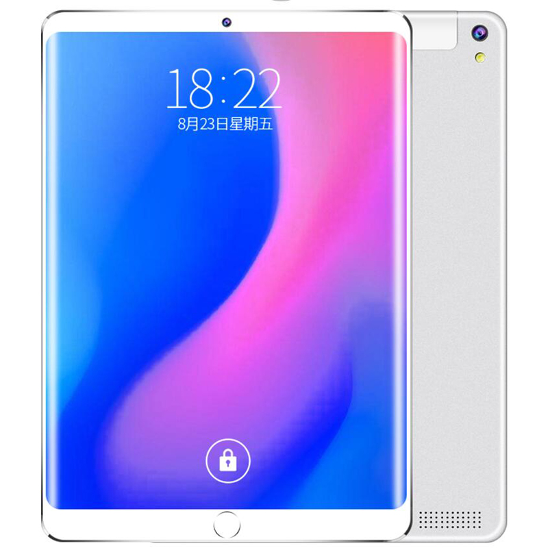Free Shipping 10.1 Inch 4G LTE  Phone Call Google Android 8.0  MTK6797 10 Ten Core IPS WiFi 6GB+128GB Metal Tablet Pc 5.0 MP
