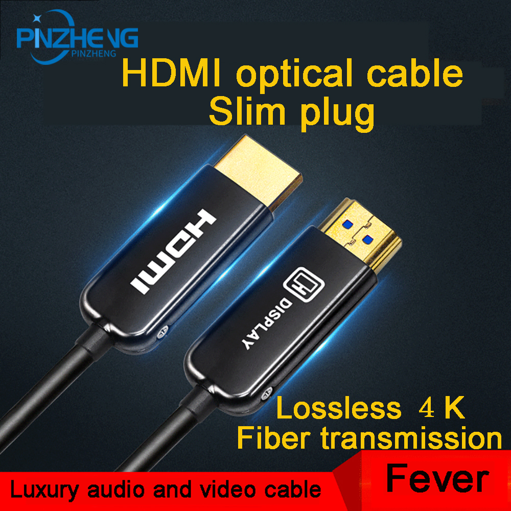 HDMI Cable Optical Fiber HDMI 2.0 Cable 4K 60HZ 3D 5m 10m 15m 20m 30m 40m 50m 100m for HD TV LCD Laptop PS3 Projector Computer