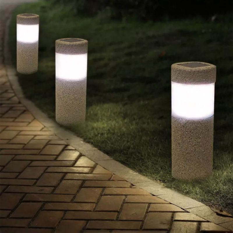 How to buy Chance of  High-quality Stainless Steel Solar Led Lawn Lamp Garden Path Led Lights Outdoor Solar-bollard Light