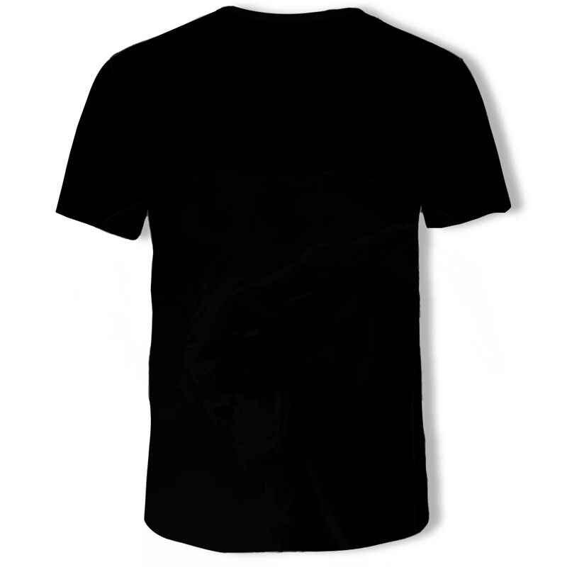Faux deux pièces hommes T-Shirts 3D imprimé t-shirt à manches courtes conception drôle décontracté hauts T-Shirts mâle Halloween t-shirt 5xl
