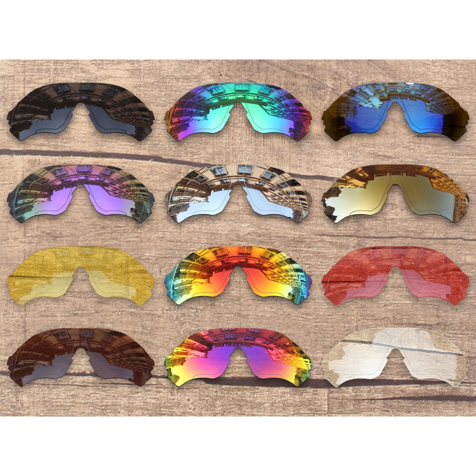 Vonxyz Multiple Choices Polarized Replacement Lenses & Ear Socks & Nose Pads For-Oakley EVZero Range OO9327 Sunglasses