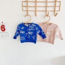 Baby Sweaters MILANCEL Cardigans Knitwear Infant Autumn Graffiti Boys